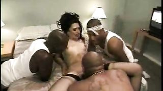 Black guys are the perfect birthday gift for white slut wife