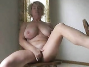 Mature woman rubbing cunts with nipples It's very