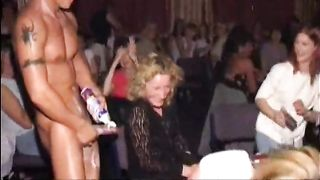 Girls sucking cocks at hen party!