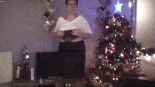 Christmas strip, an evening strip over the christmas period..