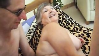 Getting fucked hard and being wanked over at the same time and I get a hot load of hot thick creamy spunk all over my big soft breasts. Great close-ups of his cum shot and me licking him clean.