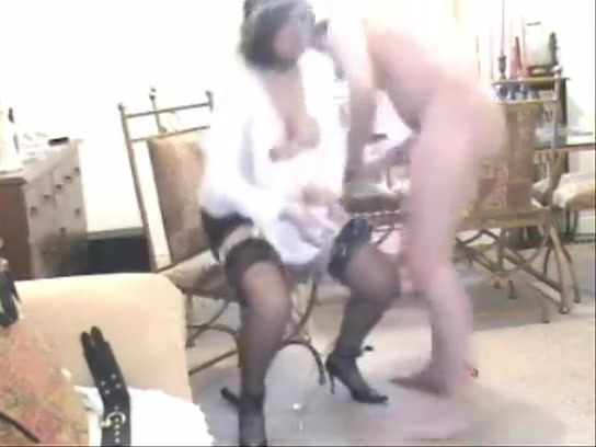 Maid Tied Up And Fucked Hard