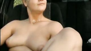 German amateurs outdoor anal fuck on car