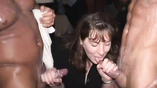 DRUNK WOMEN OUT OF CONTROL, crazy amateur women with male strippers