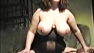 My wife being a slut.Listen to the way my slut wife talks,mmmm a real whore,what do you think of her guys,be as filthy as you like about my whore and her huge titties!!!