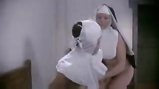 Catholic nuns caught masturbating and playing. Nuns having fun