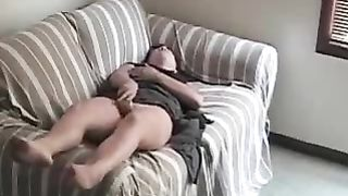 Real hidden orgasm (very vocal!) Horny lady gives herself an orgasm on hidden camera