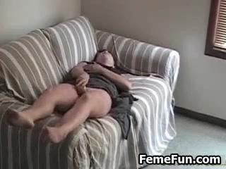 Real orgasm hidden