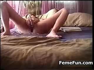 Wife caught vibrator