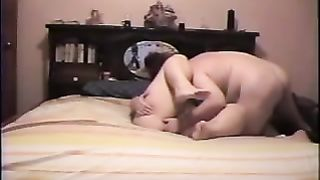 Fat and sexually excited horny white wife acquires her fanny fingered and then penis screwed by her paramour