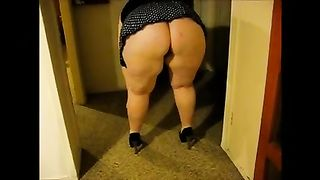 My large butted BBC slut is damn proud of her breathtaking derriere