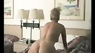 Vintage homemade sex clip with my hawt blonde neighbour cheating wife