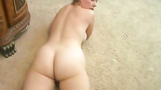 My beautiful horny white wife loves showing off her large luscious booty