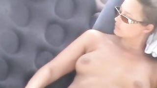 Just a lascivious dude fucking his sassy white milf girl