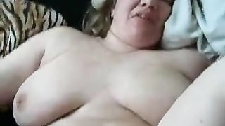 Wild sex with my wife's frisky big beautiful woman mama in her bed
