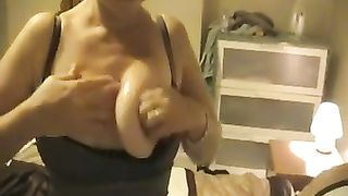 Awesome homemade movie with my milf golden-haired black cock sluts acting like a whore