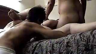 I try to fuck as often as possible and I love threesomes