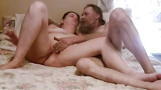 My mature Married slut lets me finger her love tunnel in advance of that babe gives head to me