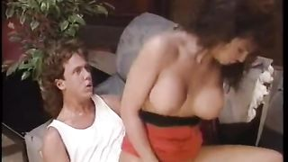 Delicious breasty brunette hair receives pounded by insatiable paramour