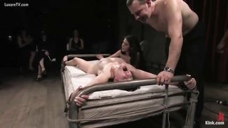 Student abused in this servitude session and getting fun