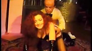 Redhead wife Hooker drilled by a Dwarf