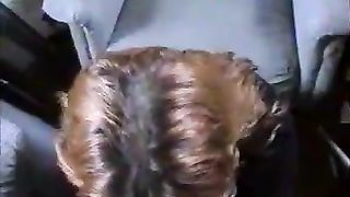 Brown-haired mamma sucks my penis and acquires facialed hard