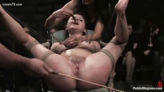 Special dungeon BDSM of two scat fetish couples