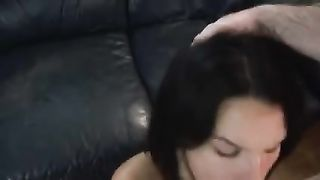 My black cock sluts is a cum guzzling wang engulfing pro who can't live without giving BJs