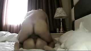 Stunning clip with me pounding my wife's muff in the missionary pose