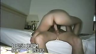 I love riding my hubby's moist shlong in cowgirl position
