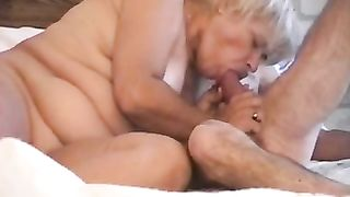 My old white wife actually knows how to give excellent oral stimulation