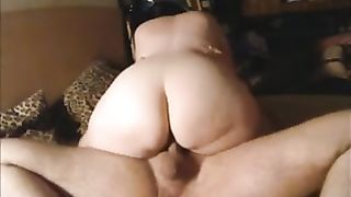 My chubby bottomed Married slut is riding my shaft in cowgirl position