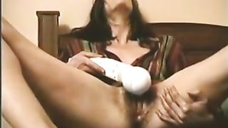Enormous Hitachi sex-toy is beloved sex toy of my black cock sluts