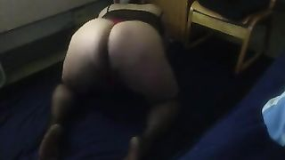 Brazilian plump dilettante cheating wife shakes her ass