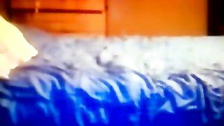 My BBC slut is bouncing on my neighbor's ramrod like a fucking cowgirl