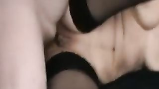 Danish hawt white Married slut tapes my soft pecker in the a-hole hole