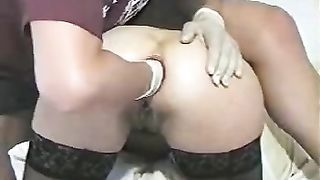 Hardcore bawdy cleft and anal fisting of my yielding cheating wife