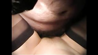 My white wife likes being a fuck toy for me and this babe can't live without missionary position