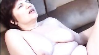 Fat and breasty woman loved to get screwed hard in her snatch