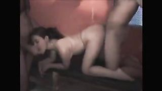 Love to be a whore in front of my cuckold husband! Amateur Interracial Porn