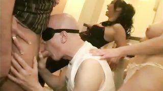 Cuckold couple and black Master!  interracial porn video