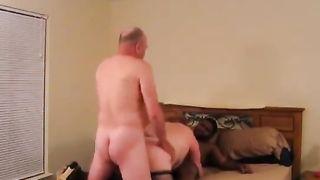 Black men fuck cuckold wife! Cuckold husband watches wife fuck black fucker