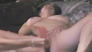 Mature breasty bulky white black cock sluts masturbating with a lengthy plastic tool