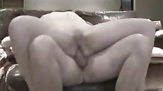 Horny and dirty british floozy sucks the knob to her spouse