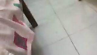 Married Arabic slut wife tops my jock after taking a shower