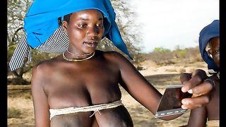 African Ebony Teen GFs!