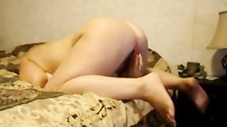 Doggy style bumpy fuck for my hawt white hot wifey