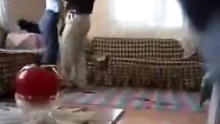 Arabic dirty slut wife is screwed by neighbour spy livecam movie scene