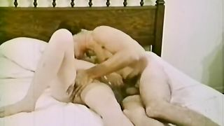Charming and hot honey got her vagina team-fucked hard by some jerk