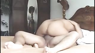 My hubby copulates my thick love tunnel in missionary position